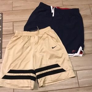 Bundle of 2 pair Men's Nike Basketball Shorts